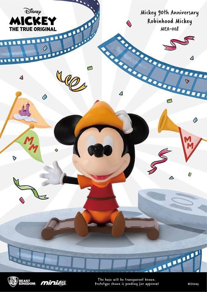 Disney - Mickey Anniversaire 90 ans Robin des Bois