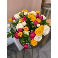 Bouquet de 30 Renoncules