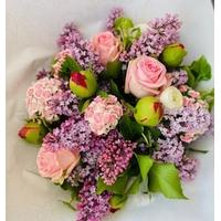 Bouquet de fleurs de saison - Taille L