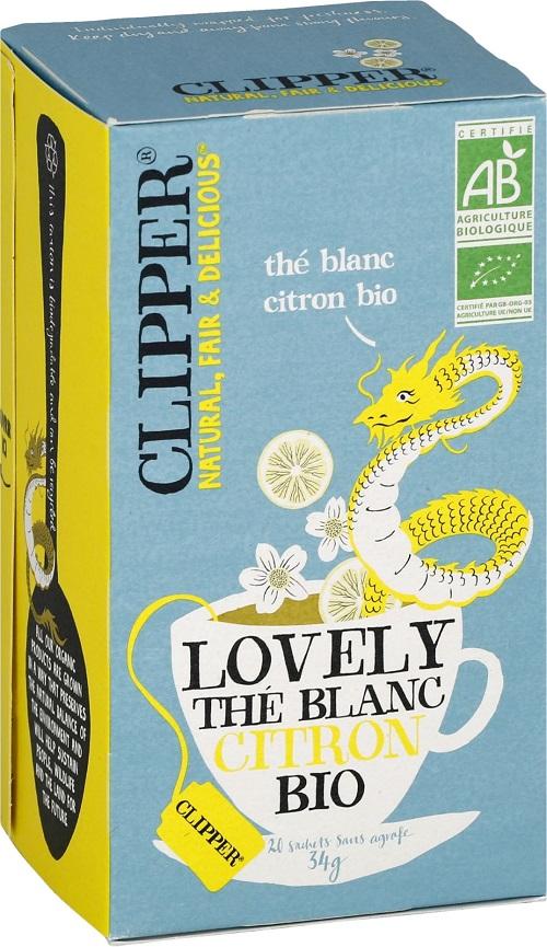 Clipper Thé Blanc Citron