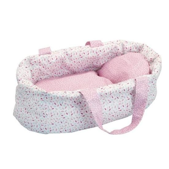 Couffin rose 28 cm Petit Collin