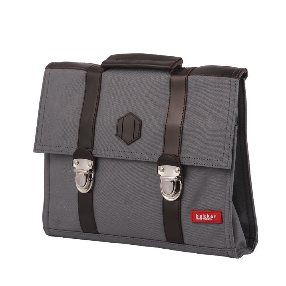 Cartable Old Scool gris anthracite