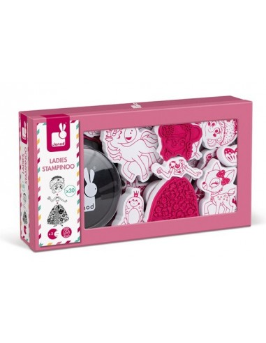 Coffret 30 tampons ladies stampinoo