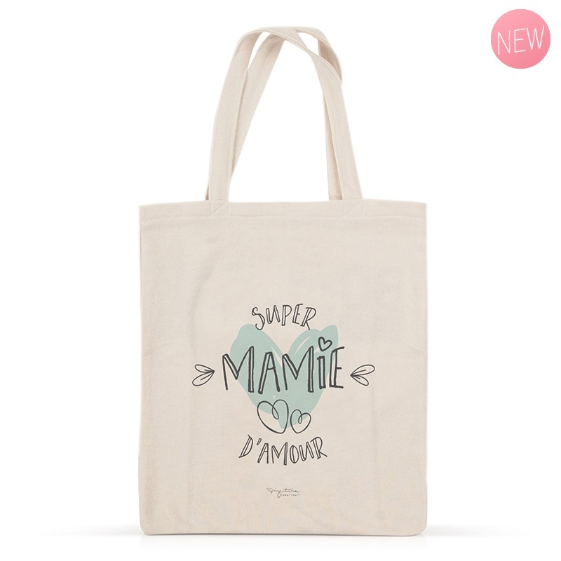 Tote bag Super Mamie d\'amour