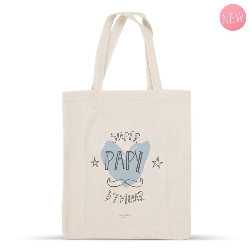 Tote bag Super Papy d\'amour