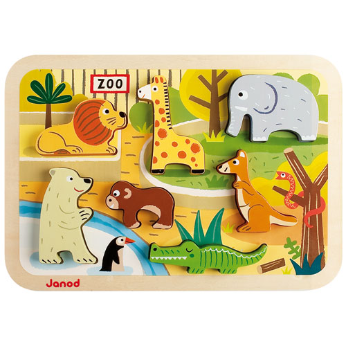 Puzzle Zoo Chunky