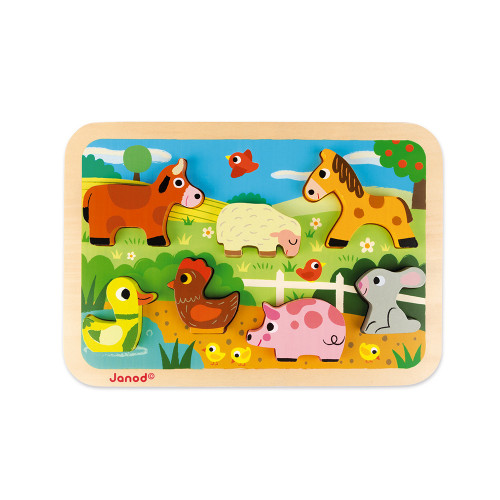 Puzzle Ferme Chunky