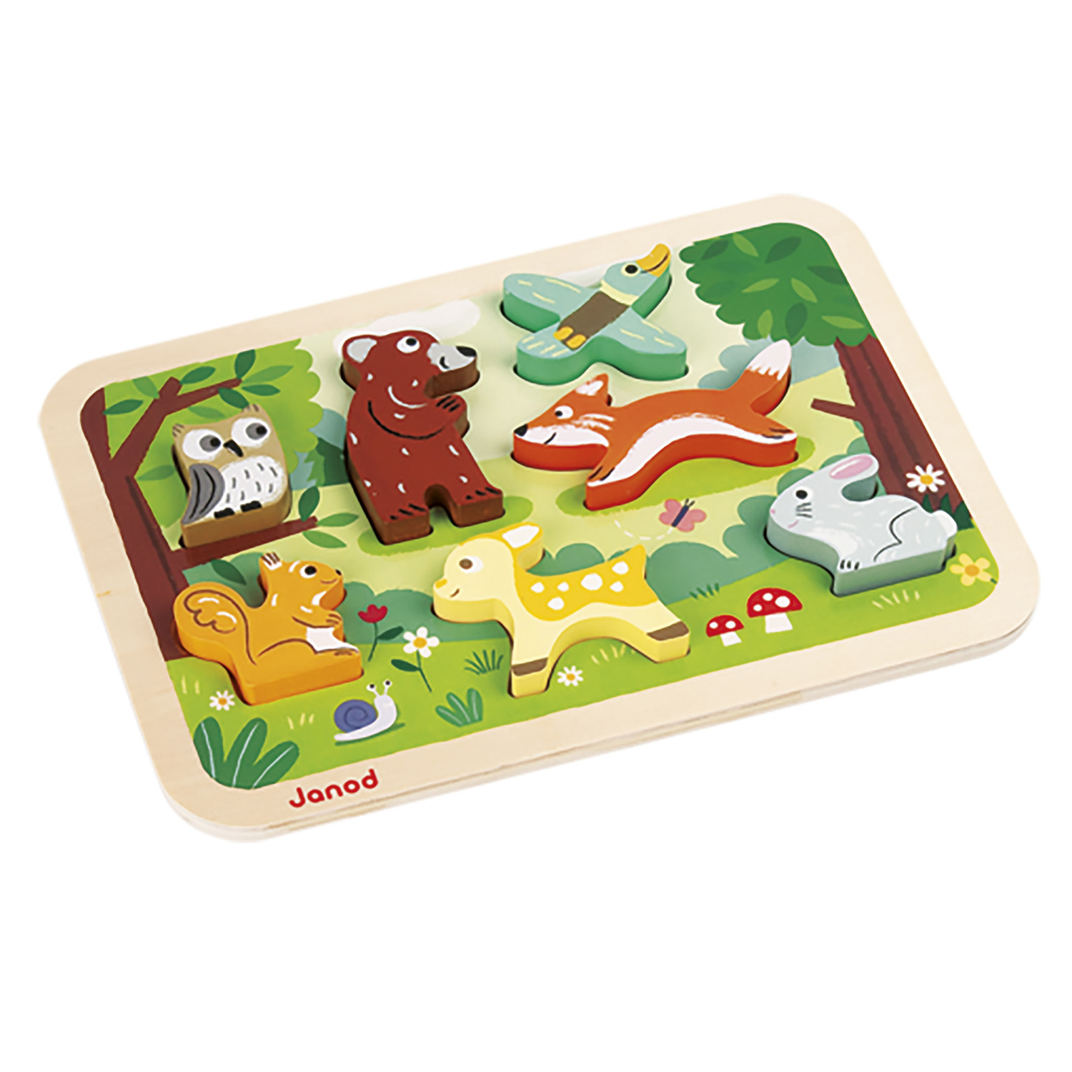 Puzzle Forêt Chunky