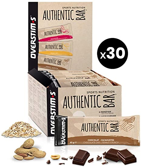 AUTHENTIC BAR - CHOCOLAT CACAHUETES - 65G