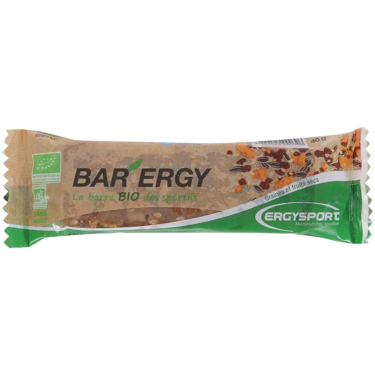 BAR ERGY BIO - 40G