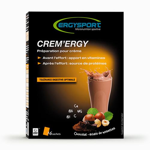 CREME\'ERGY - CHOCOLAT - ECLAT DE NOISETTES - 360G