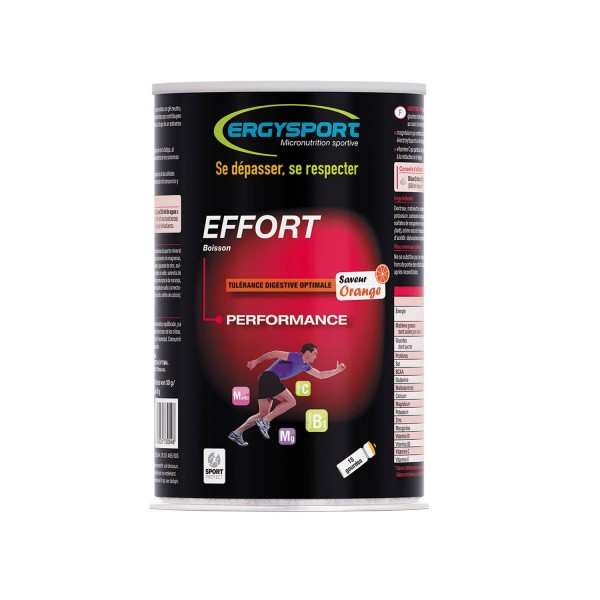 ERGYSPORT EFFORT - PERFORMANCE - ORANGE - 450G