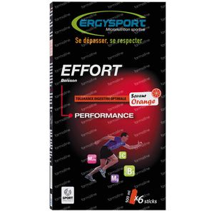 ERGYSPORT EFFORT - PERFORMANCE - ORANGE - 180G
