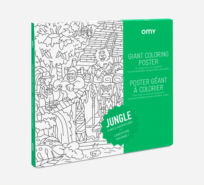 coloriage Jungle