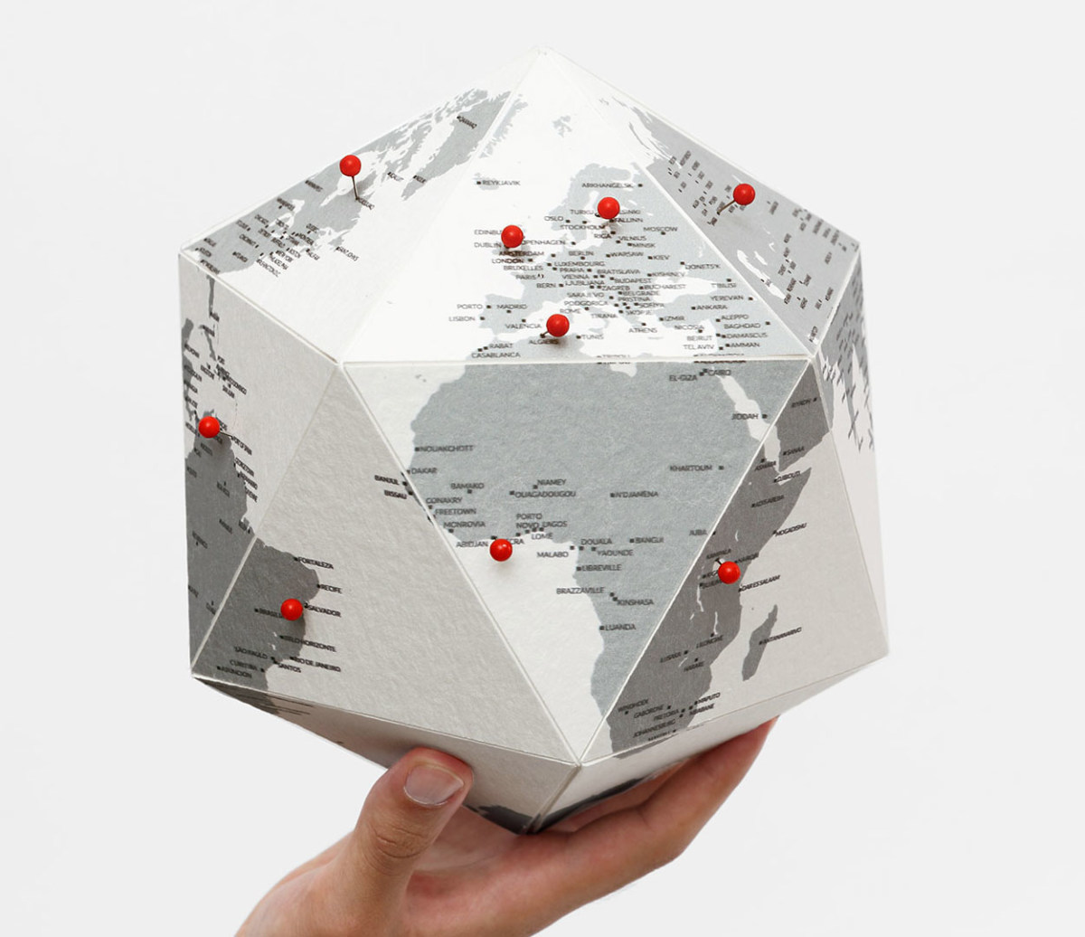 Globe HERE by Cities