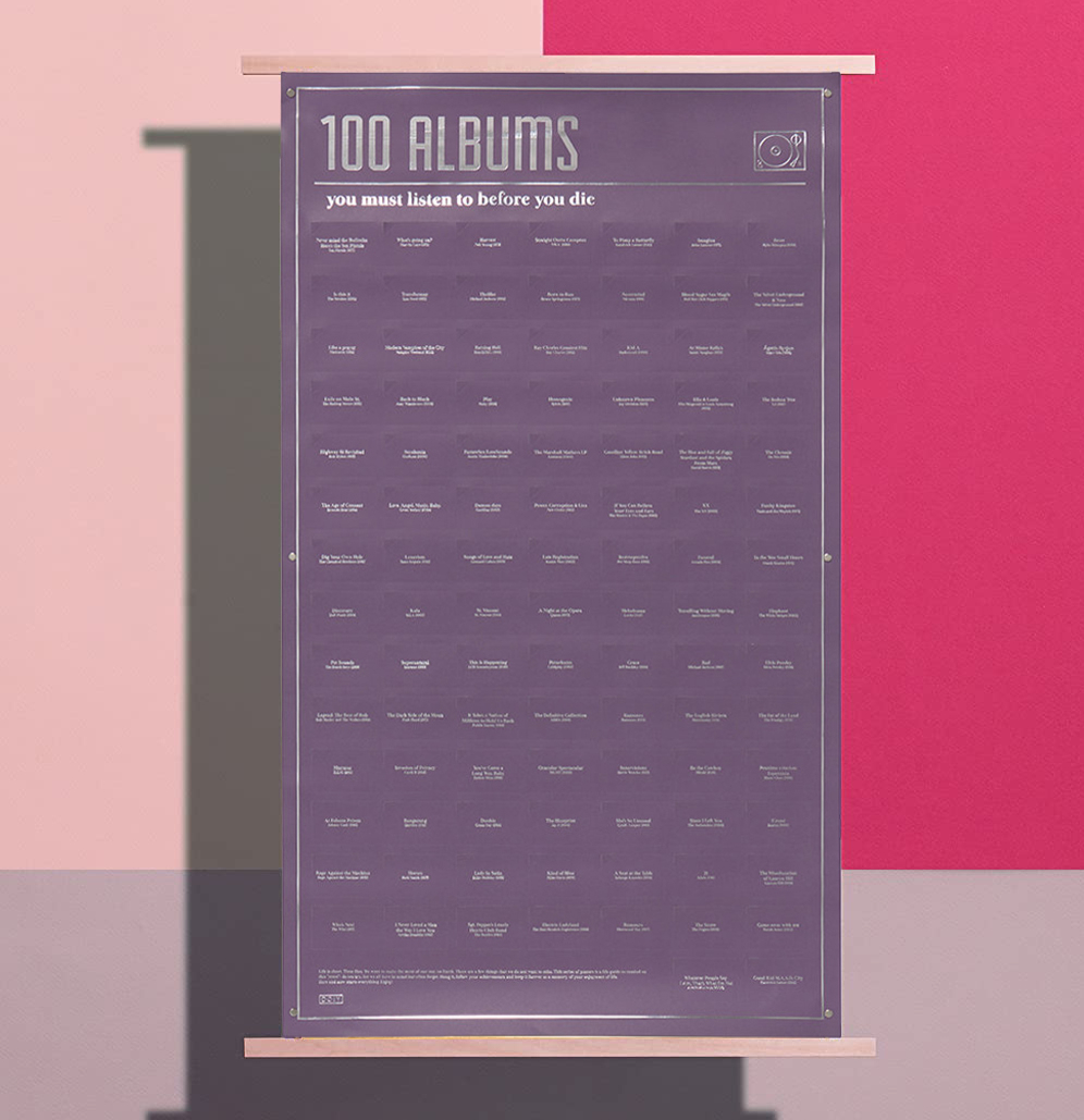 Poster 100 Albums