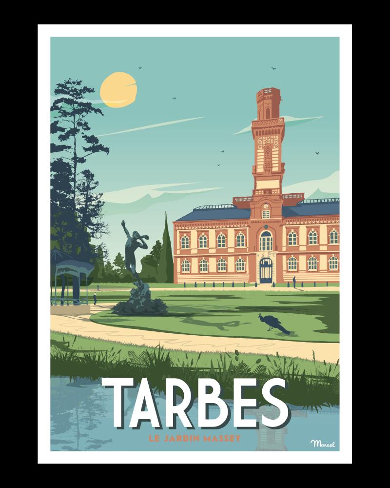 Affiche Tarbes
