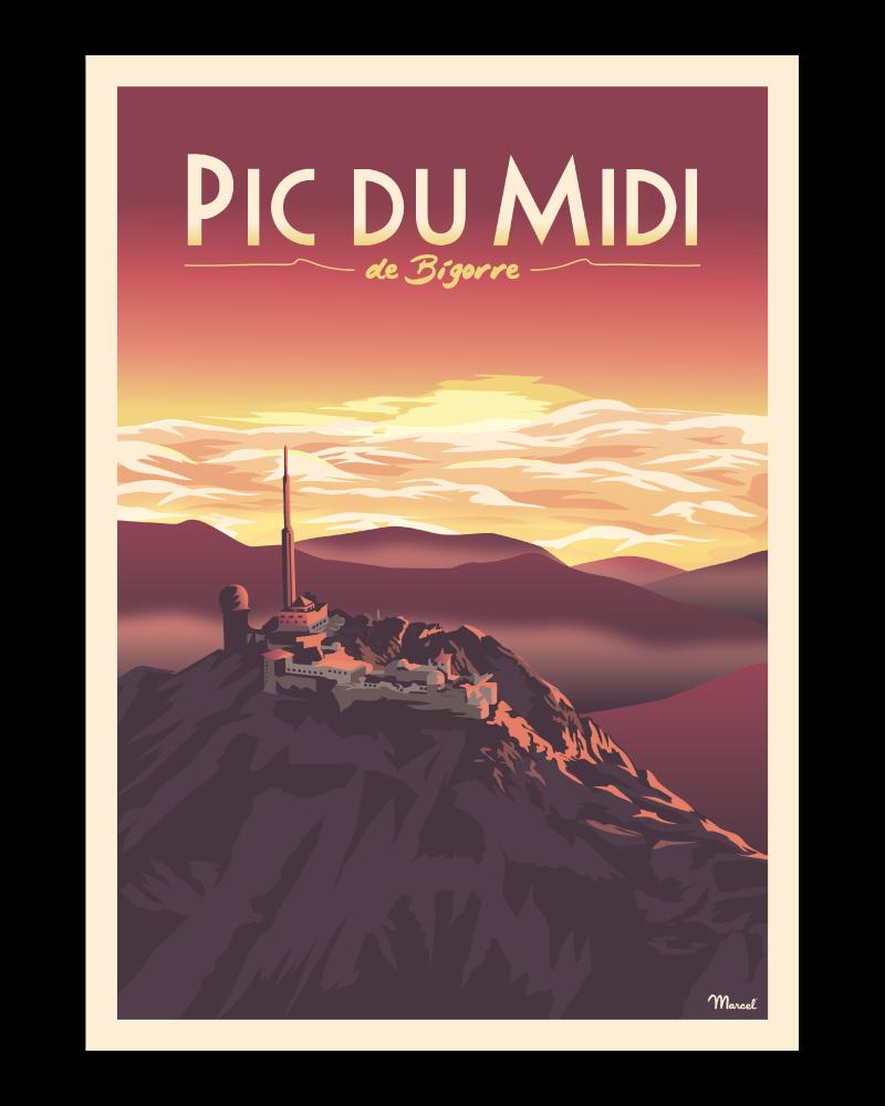 Affiche Pic du Midi