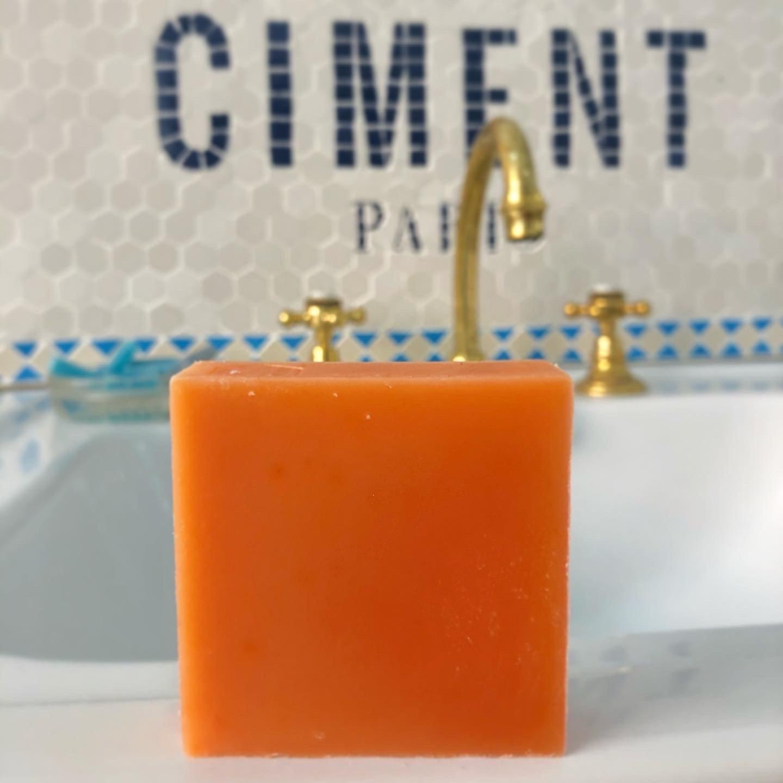 Savon monochrome Orange
