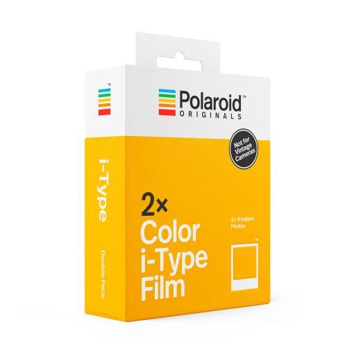 Polaroid double cartouche color i-type film