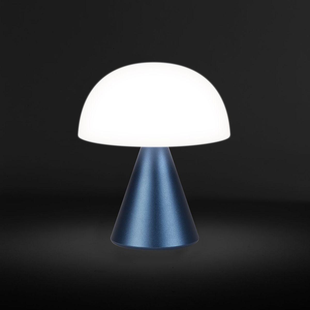 Lampe Mina M Dark Blue