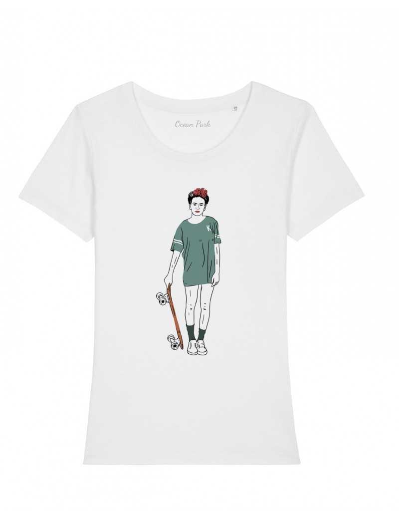 T-shirt Frida skate