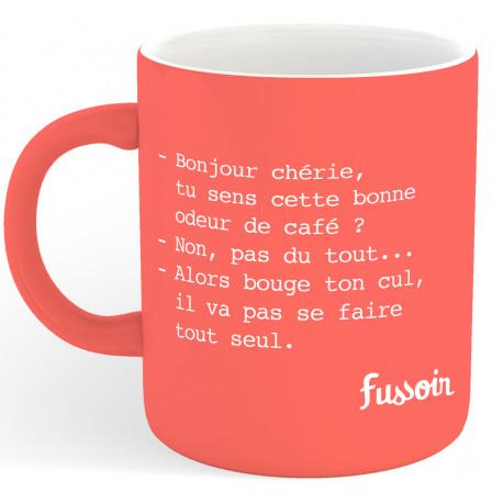 Mug Fussoir Bonjour Chérie