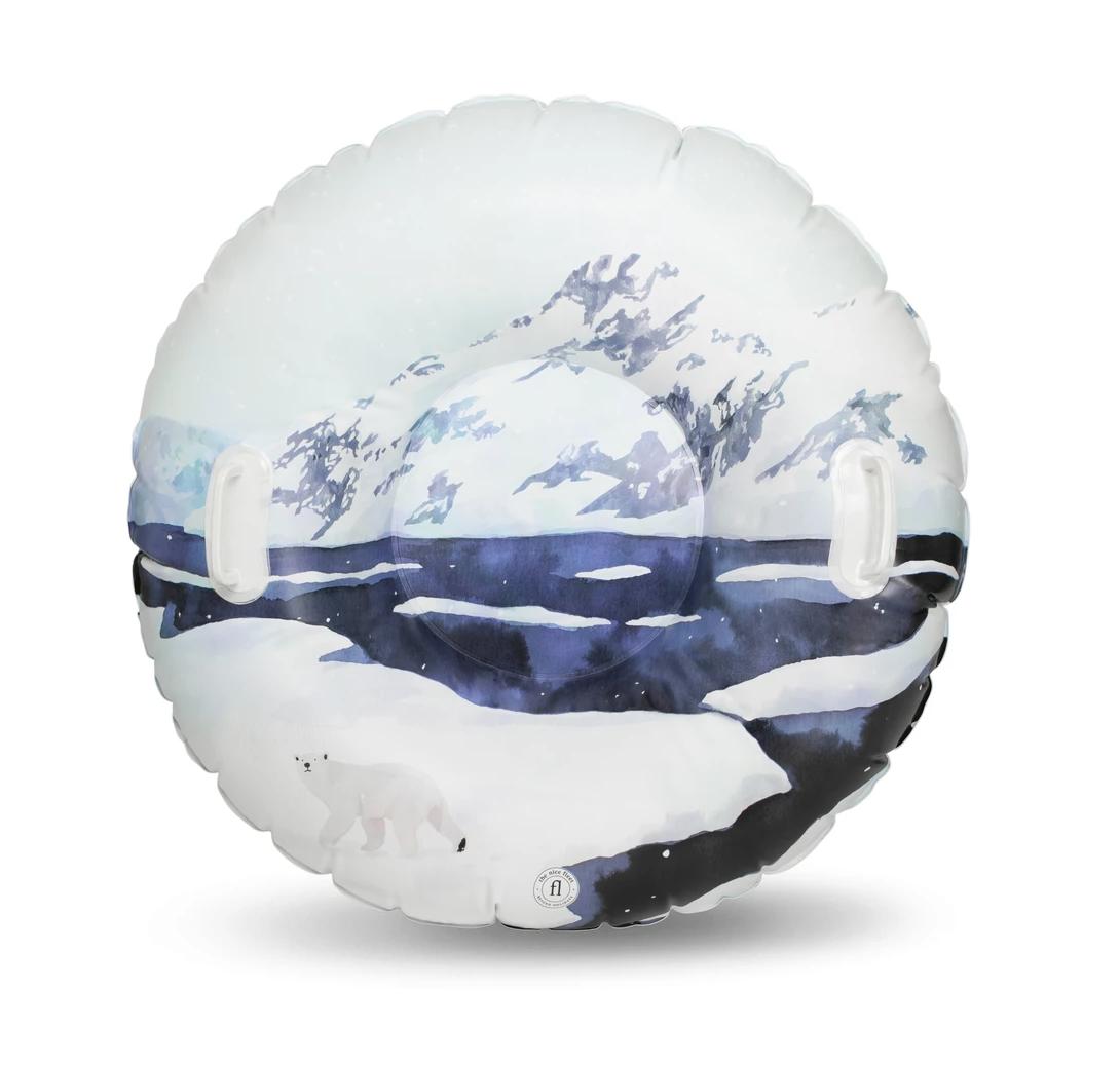 Luge gonflable Hudson Bay