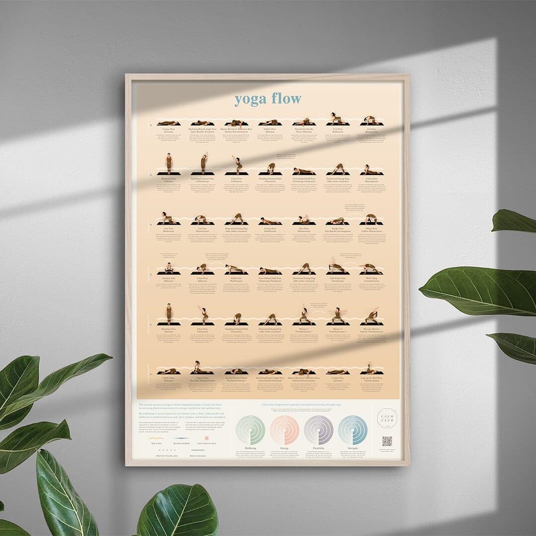 Affiche Yoga flow
