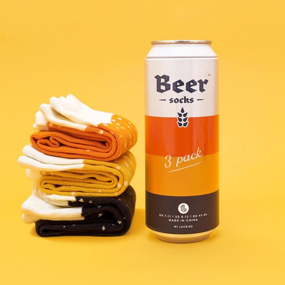 Beer sock luckies