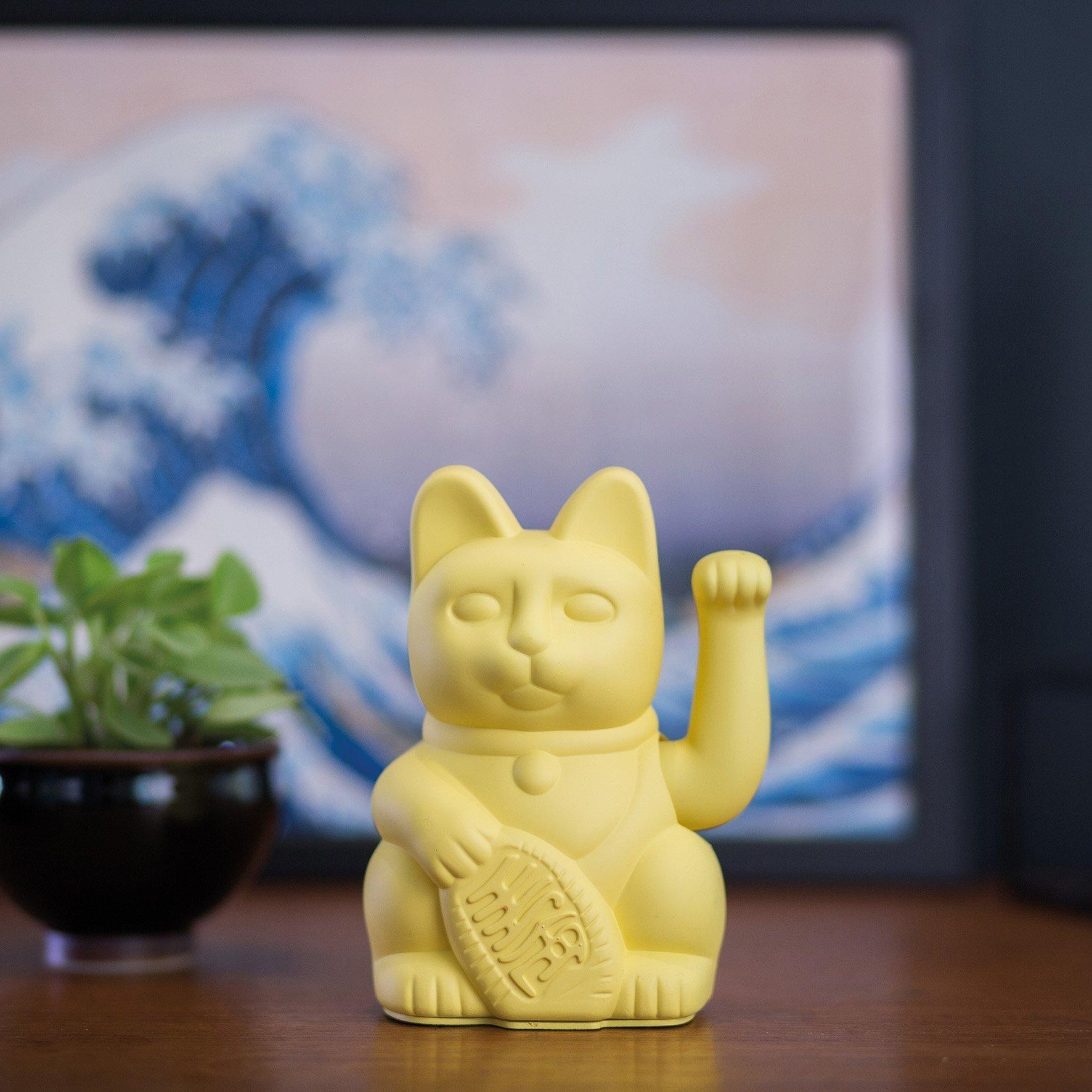 Porte-bonheur / Lucky cat Yellow