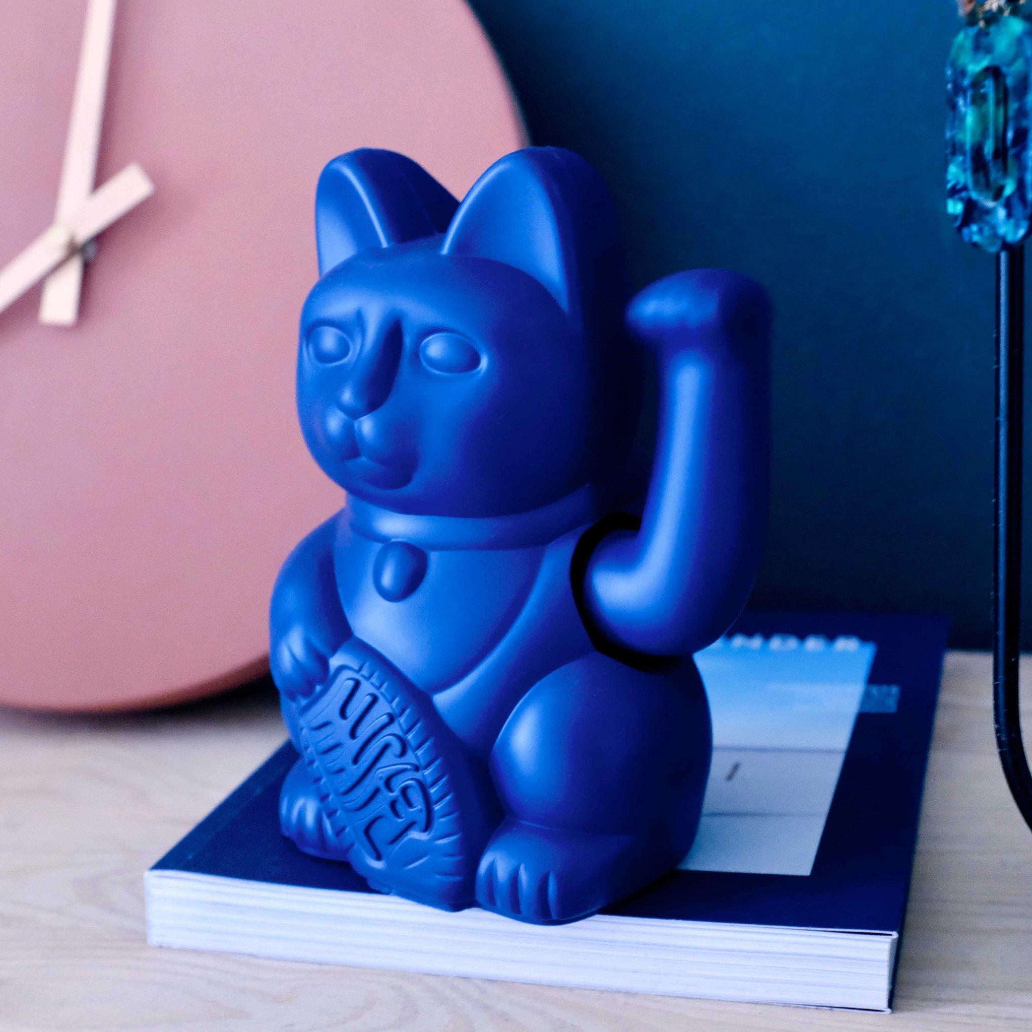 Porte-bonheur / Lucky cat Dark Blue