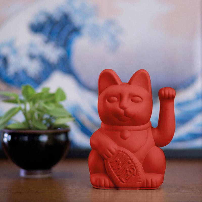 Porte-bonheur / Lucky cat Red