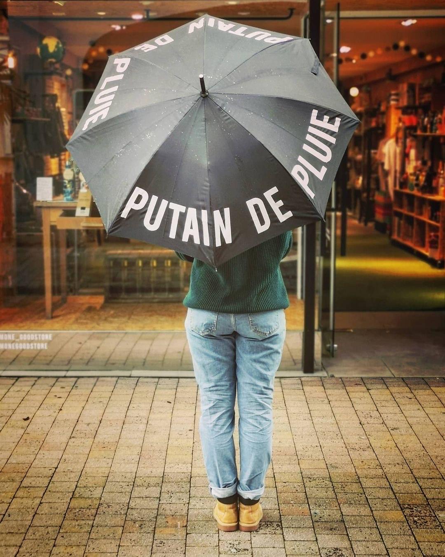 Parapluie Putain de Pluie