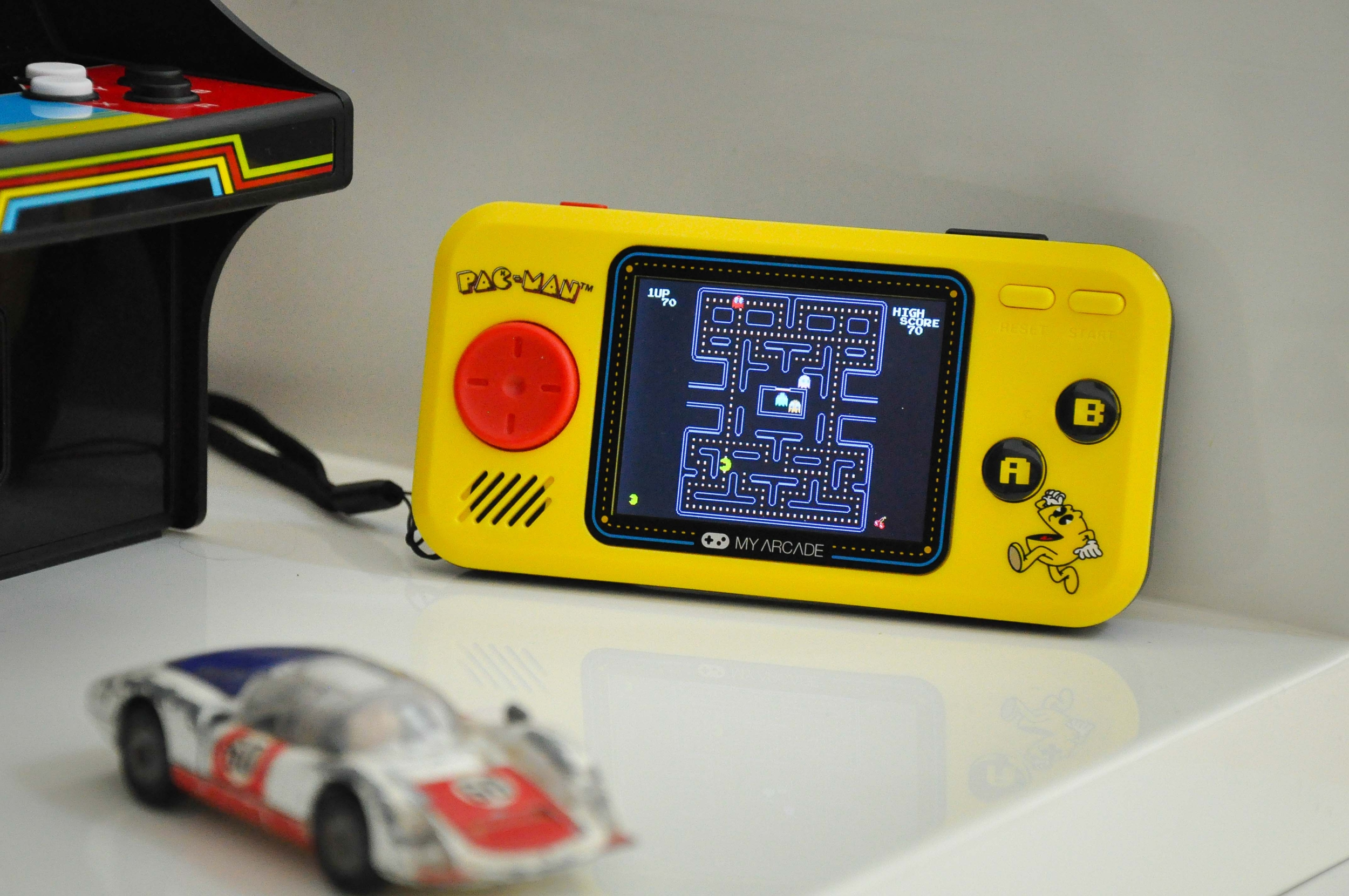 Pac-Man pocket player