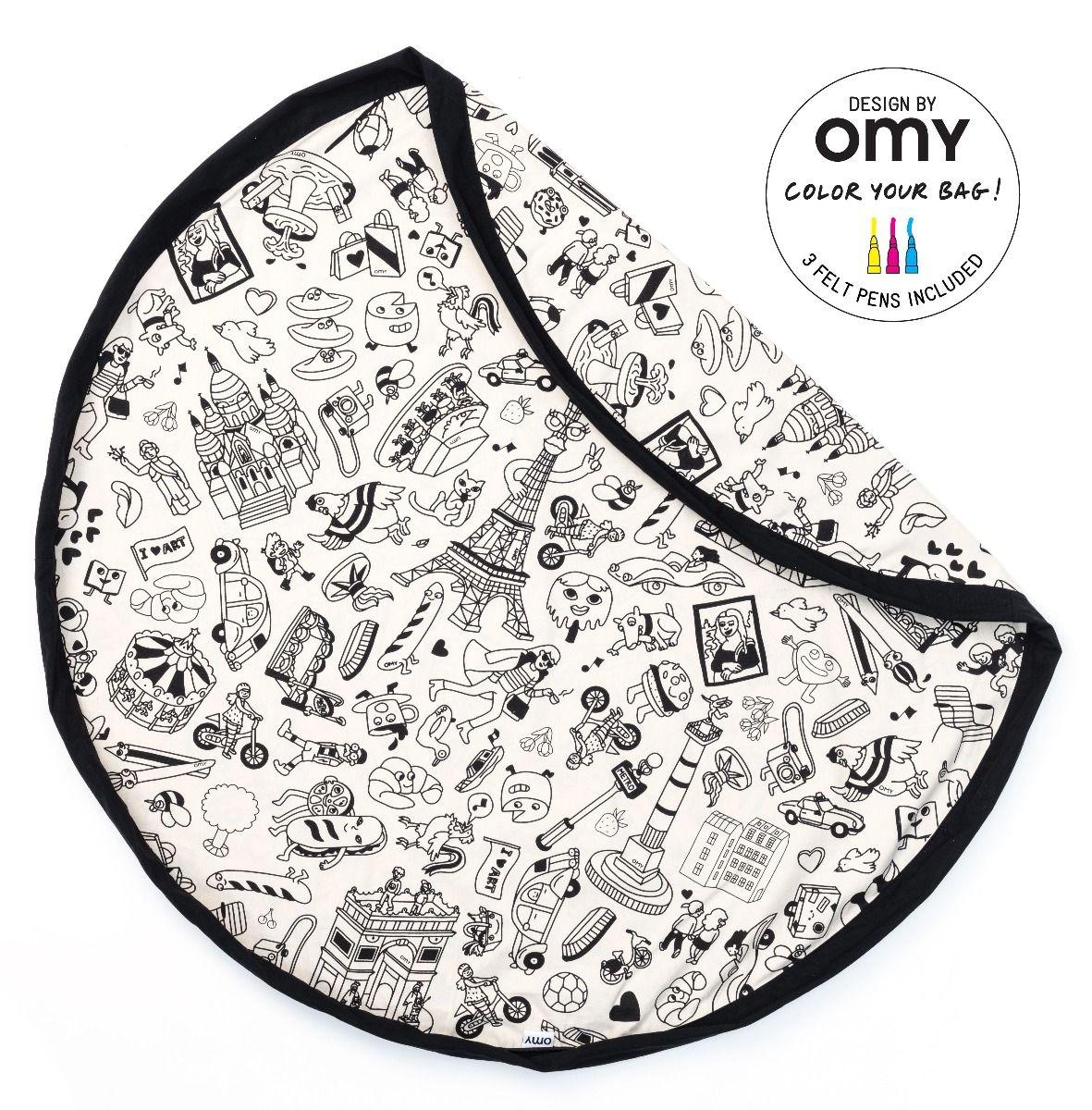 Omy Paris sac de rangement et tapis