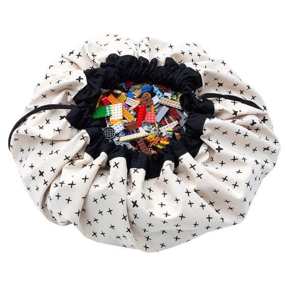 Croix sac de rangement / tapis