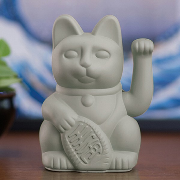 Porte-bonheur / Lucky cat grey