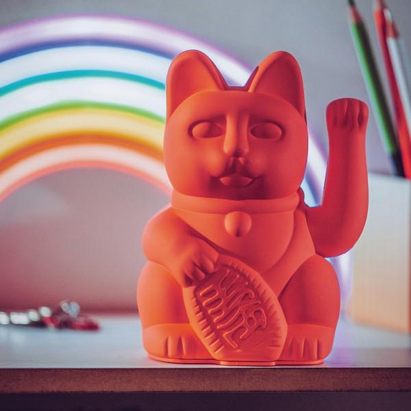 Porte-bonheur / Lucky cat neon pink