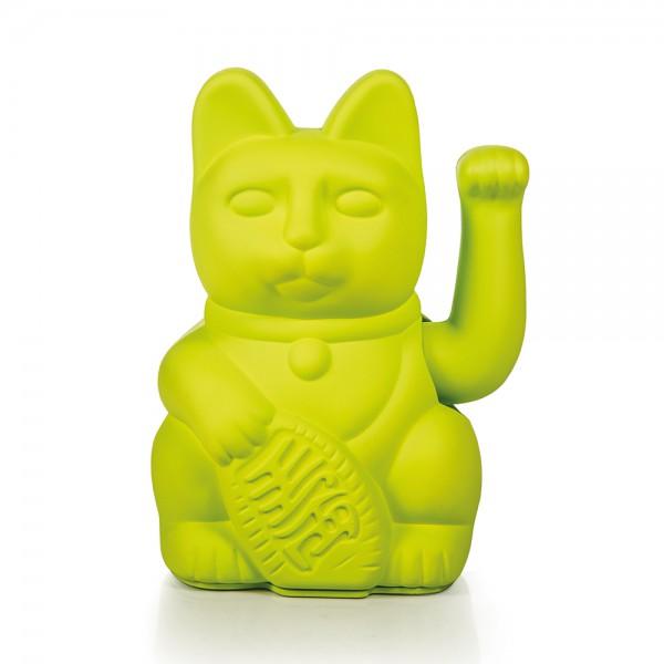 Porte-bonheur / Lucky cat neon green