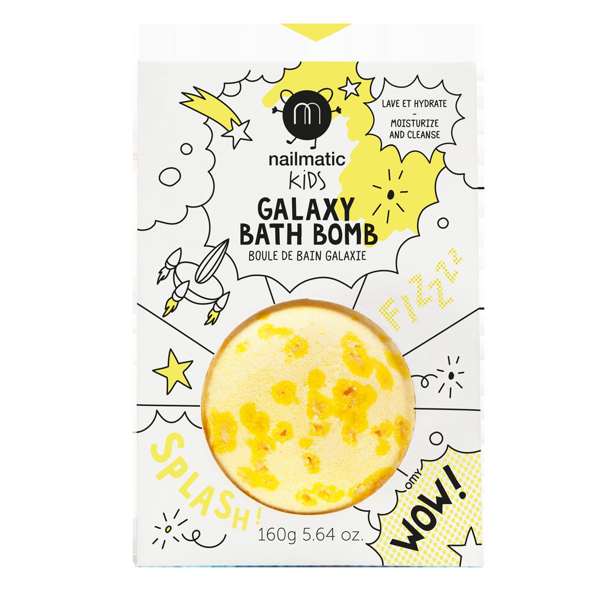 Boule de bain effervescente et apaisante - jaune soleil