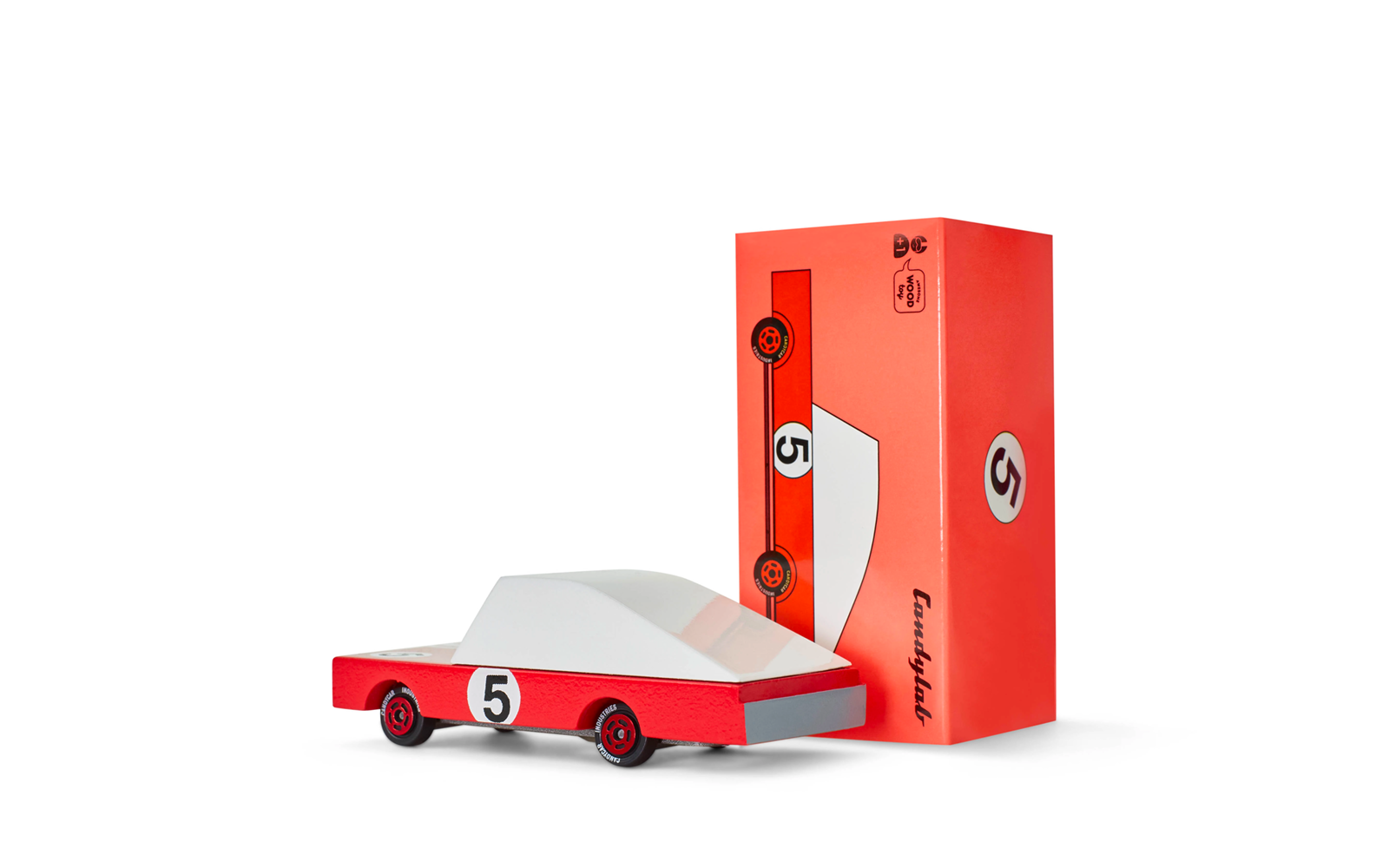 Candycar - rouge 60\'s