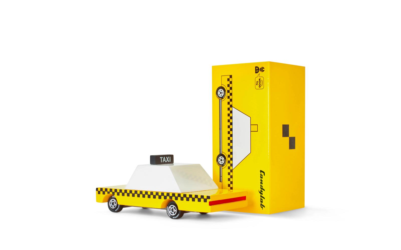 Candycar - taxi jaune