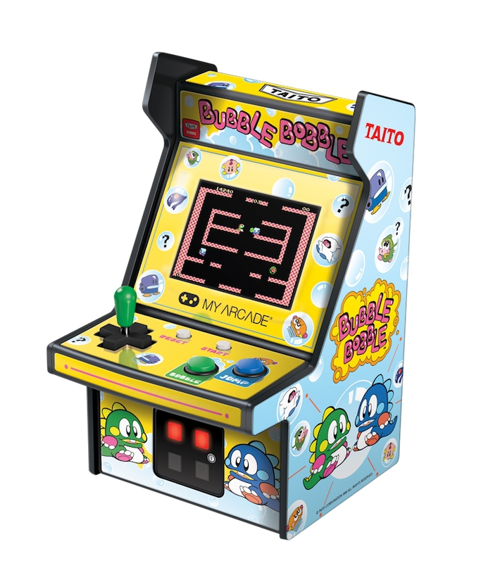 Mini Arcade Bubble Bobble