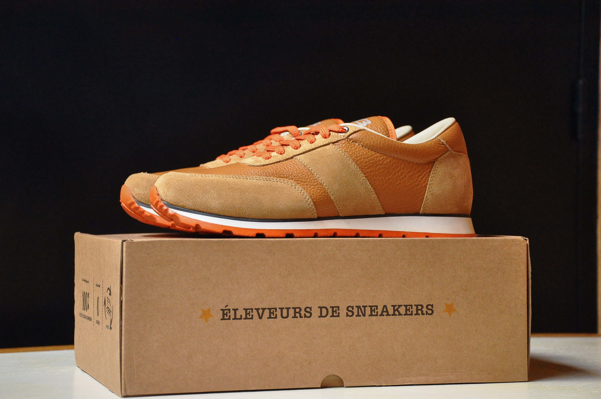Sneaker Premium BI Havane