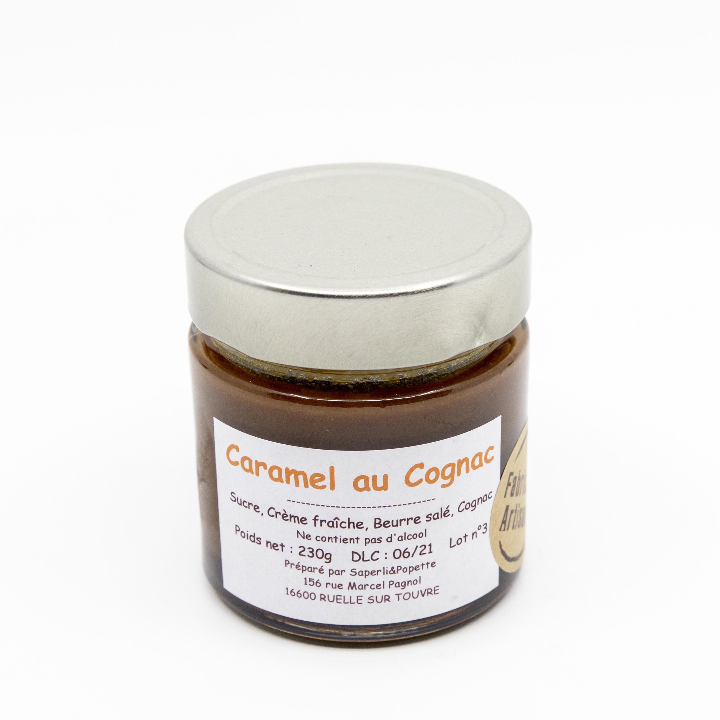 caramel cognac saperlipopette