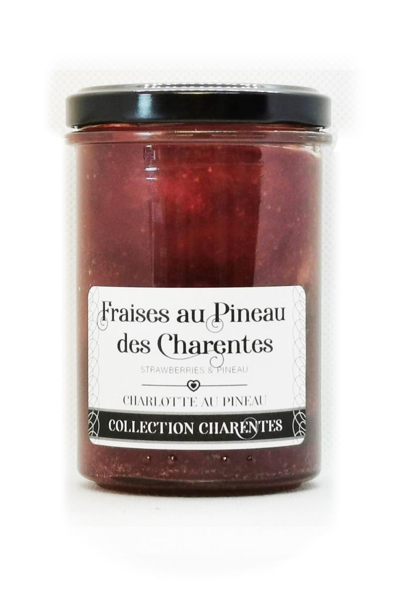 Fraises-au-Pineau-des-Charentes