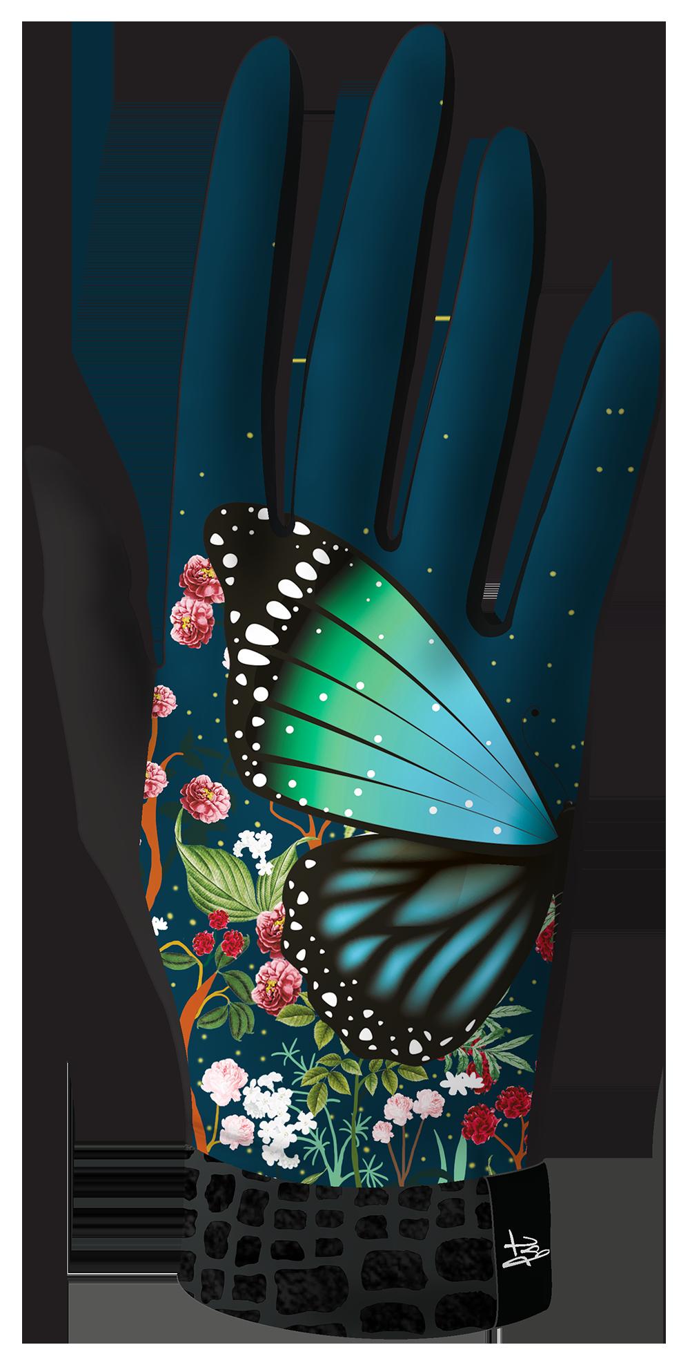 VISUEL gants microfibre  FEERIE droite