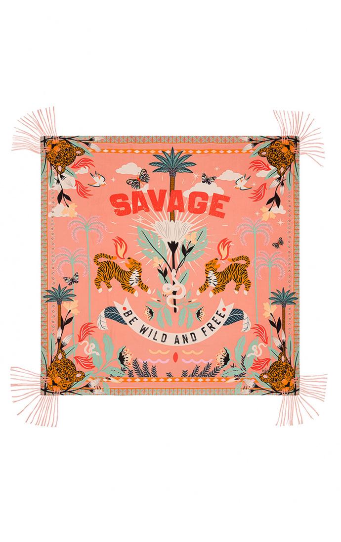 Foulard Savage pink 1