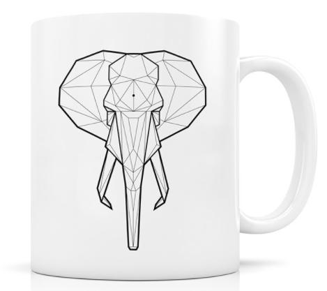 mug elephant